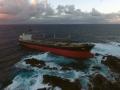 FOS Benita aground